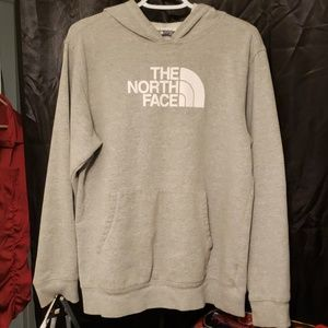 Gray The North Face sweatshirt boys size XL